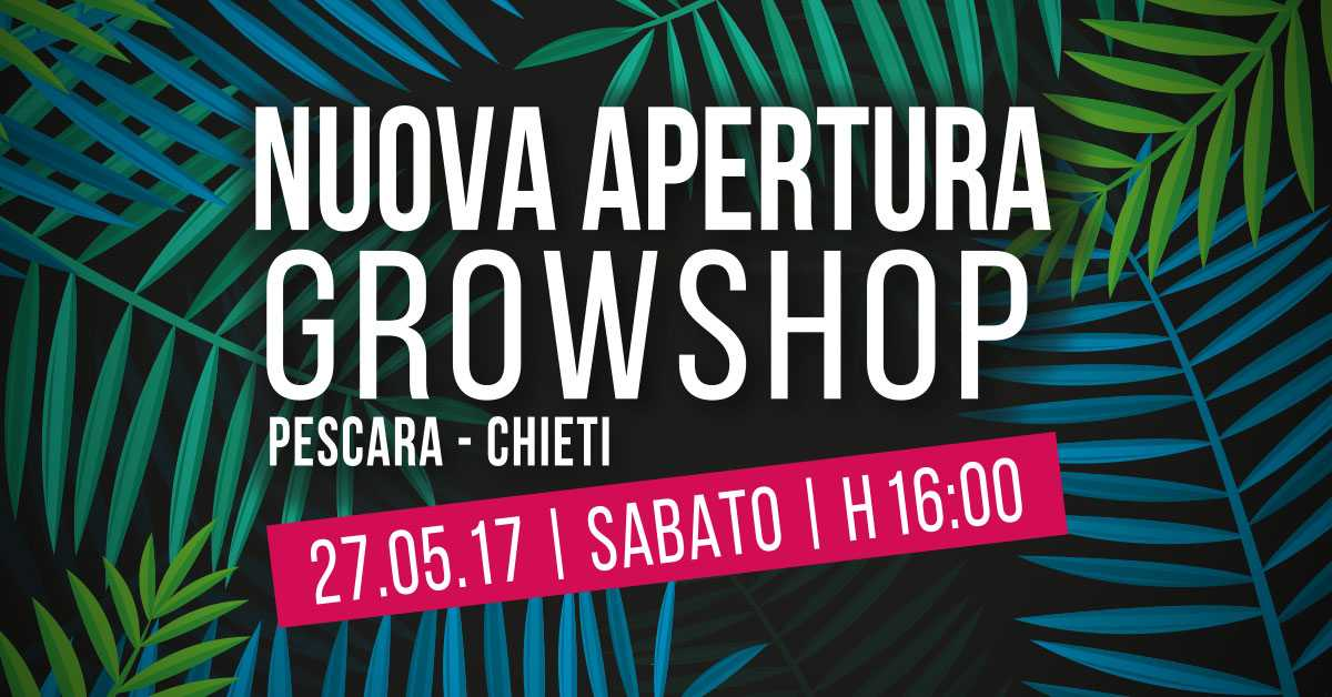 Nuovo Grow Shop a Pescara-Chieti » Tutto su Coltivazione Indoor