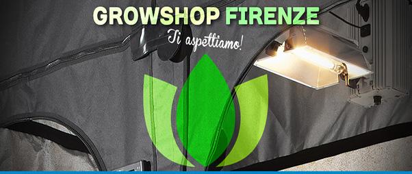 Idroponica Grow Shop Firenze, Sabato l' inaugurazione
