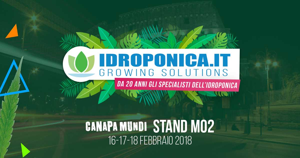 Idroponica.it @ Canapa Mundi 2018