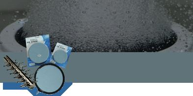 Pietre porose e diffusori aria