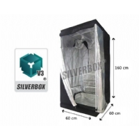SilverBox V3 in Mylar 60x60x160 cm - Grow Box Da 0,4 Mq
