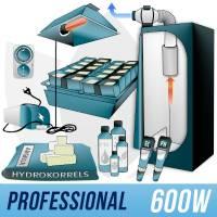 Kit Indoor Idroponica 600w + Grow Box - PRO