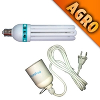Kit luce indoor CFL 125W + Cavo + Portalampada E40