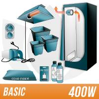 Kit Cocco 400w + Grow Box - BASIC