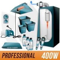 Kit Cocco 400w + Grow Box - PRO