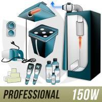 Kit Aeroponica 150w + Grow Box - PRO