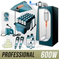 Kit Aeroponica 600w + Grow Box - PRO