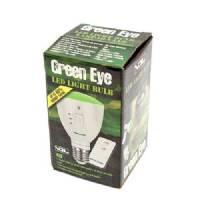 Green Eye - Lampada verde ricaricabile + telecomando