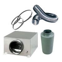 Kit Aspirazione d aria / Controllo Odori - Silent Pro 31,5cm