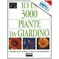 RHS - 3000 Piante da giardino