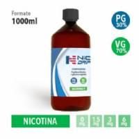 NicDrip - Base da 1L - Nicotina 0mg/ml