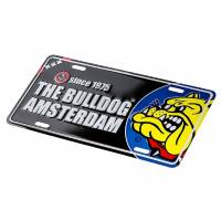 The Bulldog - License Plate