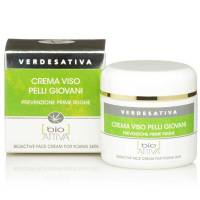 Crema viso Bioattiva PELLI GIOVANI ml 50 - Verdesativa