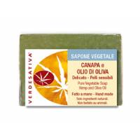 Sapone Canapa ed Olio di Oliva - Verdesativa