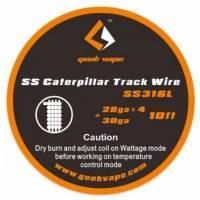 GEEKVAPE SS Caterpillar Track Wire SS316l (28GA 4+30GA) 3 metri