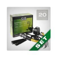 Sistema irrigazione 20 piante GIB Industries