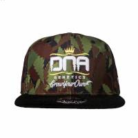 Dna - Cappello Baseball Flat Bill Ganja - Verde - Small