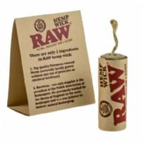 RAW Hemp Wick 6mt