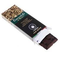 Cioccolato di Modica con semi di canapa interi