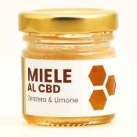 CannaBe - Miele zenzero e limone CBD 0,5% 100g