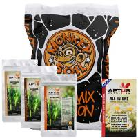 Monkey Soil - LightMix Evolution 50L + Soil Booster Aptus PRO