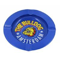 The Bulldog Posacenere Metallo Blu