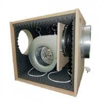 Aspiratore SOFTBOX MDF Super Insonorizzato 65x65x81 - 2x250/315mm - 7000 m3/h