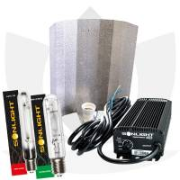 Kit Illuminazione Indoor Elettronico - Sonlight 400w HPS+ 400w MH