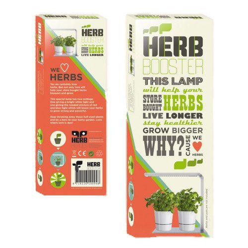 Herb Booster - Lampada a Led per Piante in Cucina