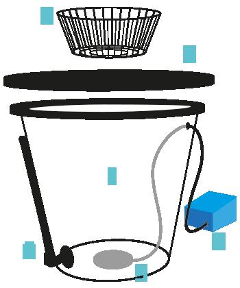 Sistema Idroponico DWC