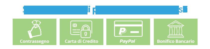 Scegli il pagamento che preferisci