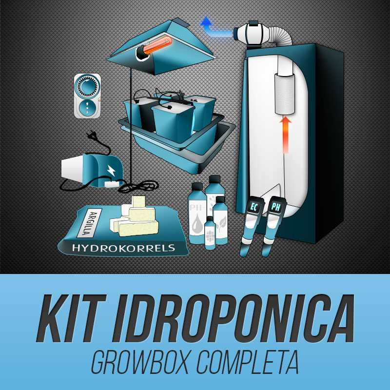 Kit Grow Box Idroponica