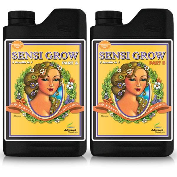 Adv nutrients sensi grow a b ph perfect for Un fertilizzante