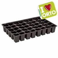 Semenzaio in plastica di Verdemax - I LOVE ORTO - 40 celle