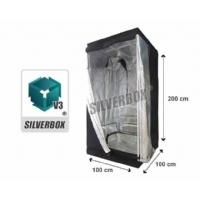 SilverBox V3 in Mylar 100x100x200 cm - Grow Box Per Coltivare Indoor - 1 Mq