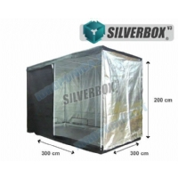 SilverBox V3 in Mylar 300x300x220cm - Grow Box Per Coltivazione Indoor - 9 Mq