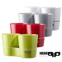 Hydro Herbs Doppio - Vaso Intelligente
