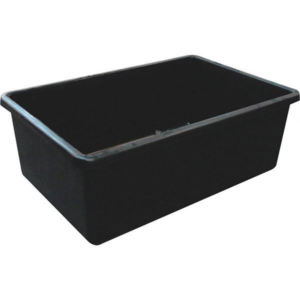Vasca rettangolare 400l 129x86x46cm for Vasche per tartarughe in plastica