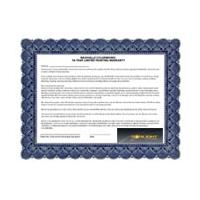 Certificato di estensione di garanzia Alimentatori Sonlight