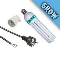 Kit CFL 85W + Cavo + Portalampada E27