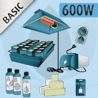 Kit Idroponica Indoor 600W Basic