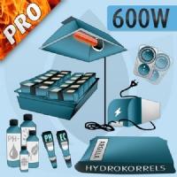 Kit Idroponica Indoor 600W PRO
