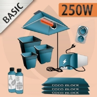 Kit Coltivazione Indoor Cocco 250w - BASIC
