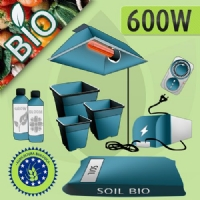 Kit Coltivazione Indoor Terra 600w - BIOLOGICO