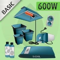 Kit Coltivazione Indoor Terra 600w - BASIC