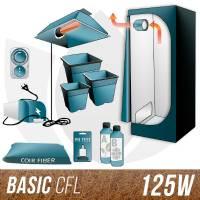 Kit CFL Cocco + Grow Box 125W - BASIC