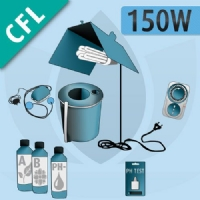 Kit Idroponica Indoor 150W Basic - CFL