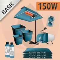 Kit Coltivazione Indoor Cocco 150w - BASIC