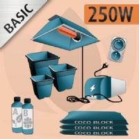 Kit Coltivazione Indoor Cocco 250w - BASIC