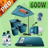 Kit Coltivazione Indoor Terra 600w - PRO